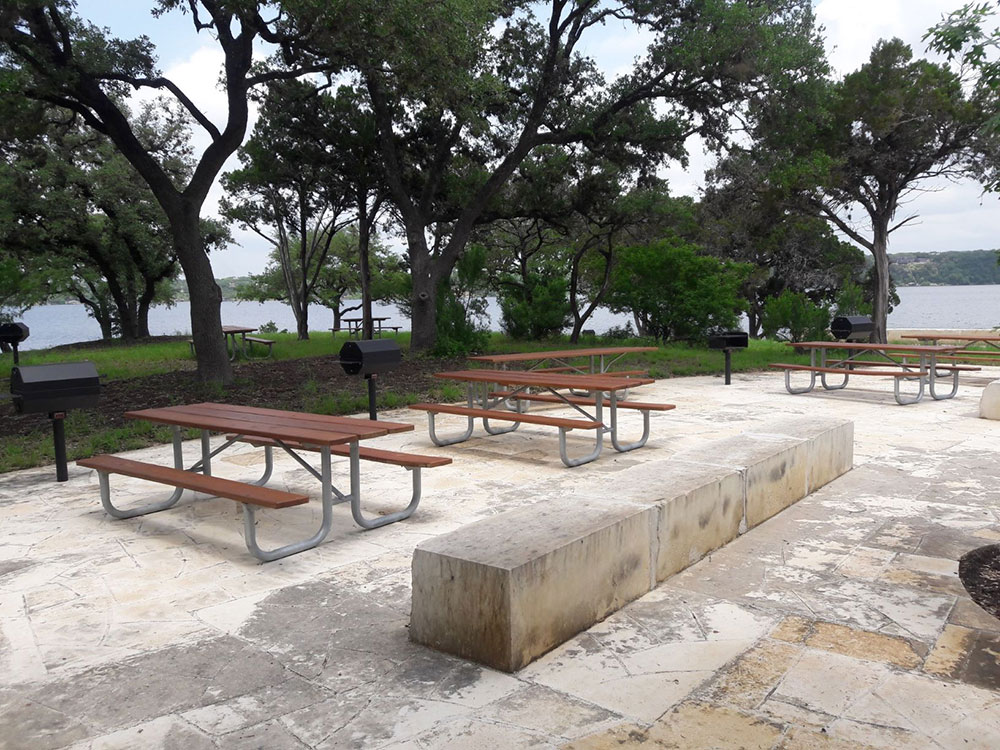 picnic tables and grills by morgan skidmore