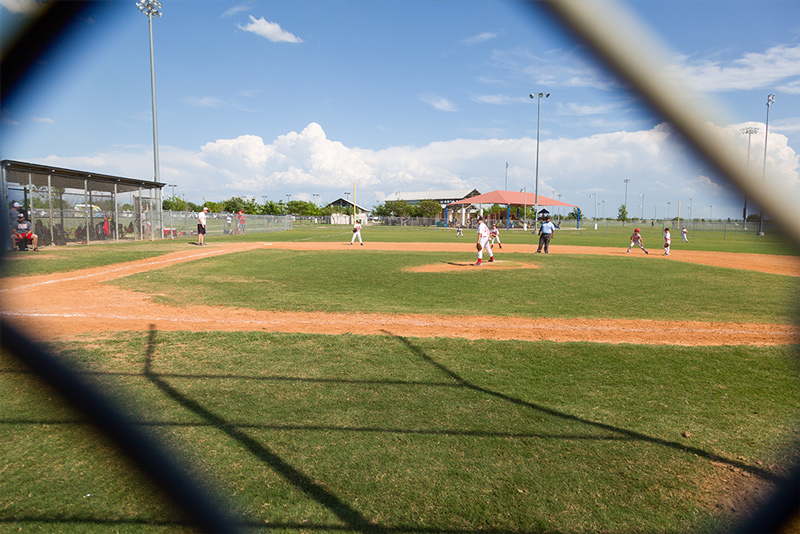 baseball field by michael murphy
